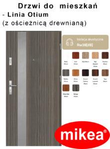 Linia Otium z ościeżnicą drewnianą-fb-kolory